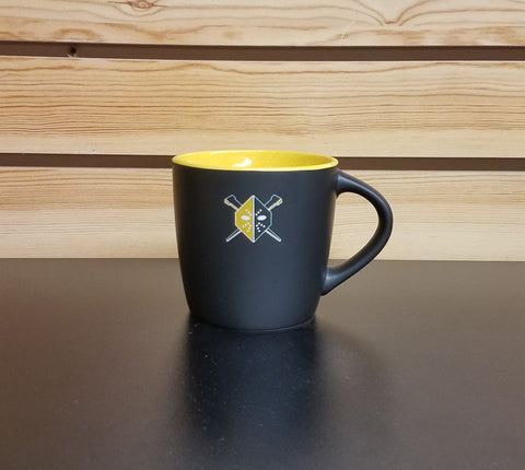 Wheeling Nailers Yellow Mask Coffee Cup