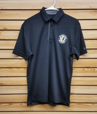 Wheeling Nailers Under Armour Black Polo