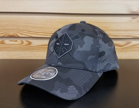 Wheeling Nailers Zyphyr Blackout Urban Camo Hat