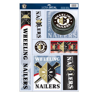 Nailers Ultra Decals Sheet