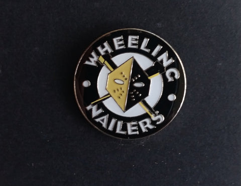 Wheeling Nailers Circle Logo Pin