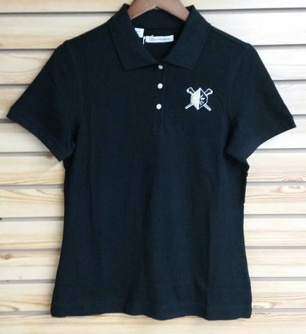 Wheeling Nailers Cutter & Buck Womens Polo Black