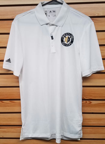 Wheeling Nailers Adidas White Polo