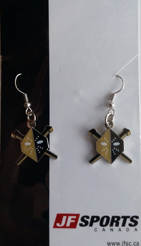 Wheeling Nailers Earrings