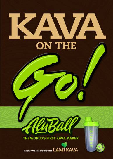 AluBall Kava Maker Now Sold in Fiji
