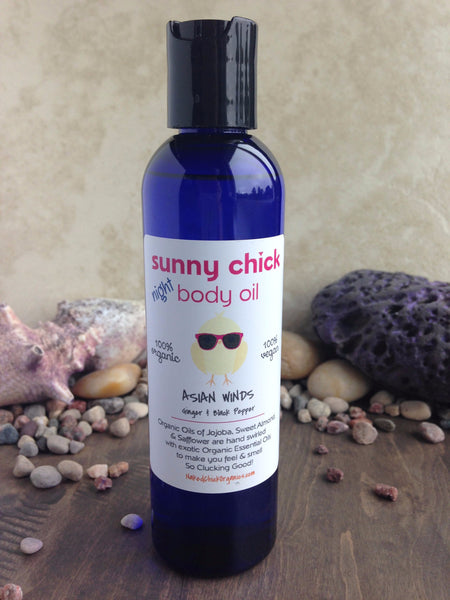 Asian Winds Body Oil