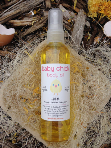 Calm Baby Body Oil