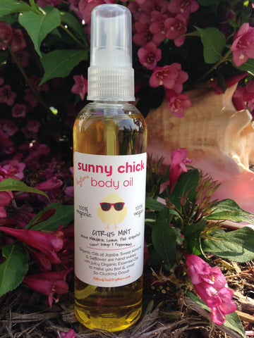 Citrus Mint Body Oil