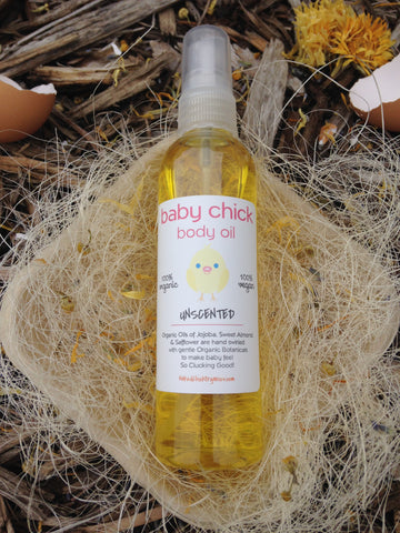 Unscented Baby Body Oil