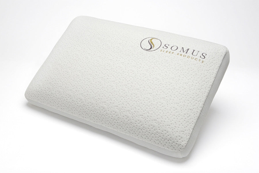 Spa Supreme Traditional Memory Foam Pillow : Pillows - Somus Sleep