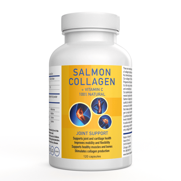 Marine Wild Caught Salmon Collagen 120 Capsules