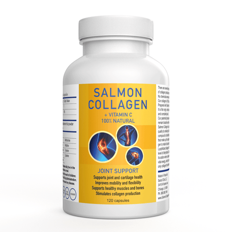 Marine Wild Caught Salmon Collagen 120 Capsules - Salmon Collagen