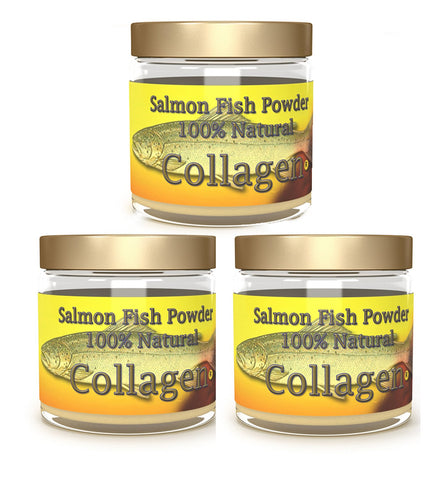 Marine Wild Caught Salmon Collagen Powder - 3 month supply - Salmon Collagen