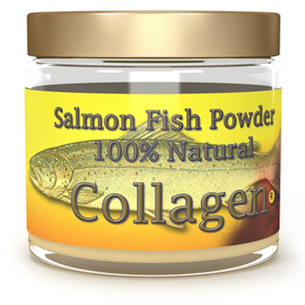 Marine Wild Caught Salmon Collagen Fish Powder - 1 Month Supply