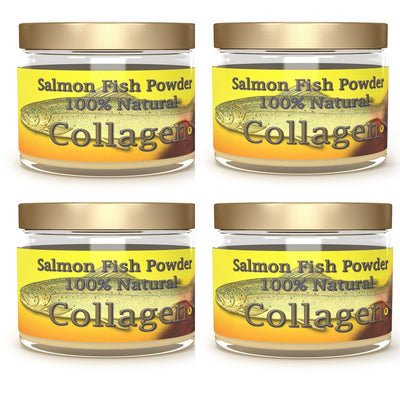 Marine Wild Caught Salmon Collagen Powder - 4 month supply