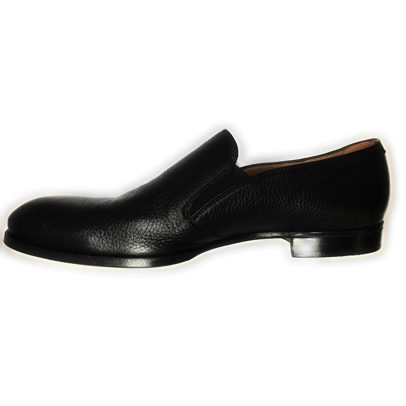 Gravati Footwear | Black Deerskin Low - GARYS