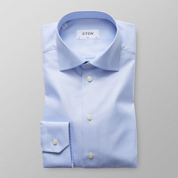 Eton Shirts | Textured Dress Shirt Slim Fit (2 Colors)