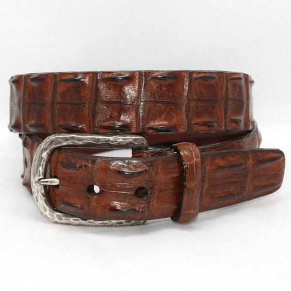 Torino Leather | Hornback Crocodile Belt - GARYS