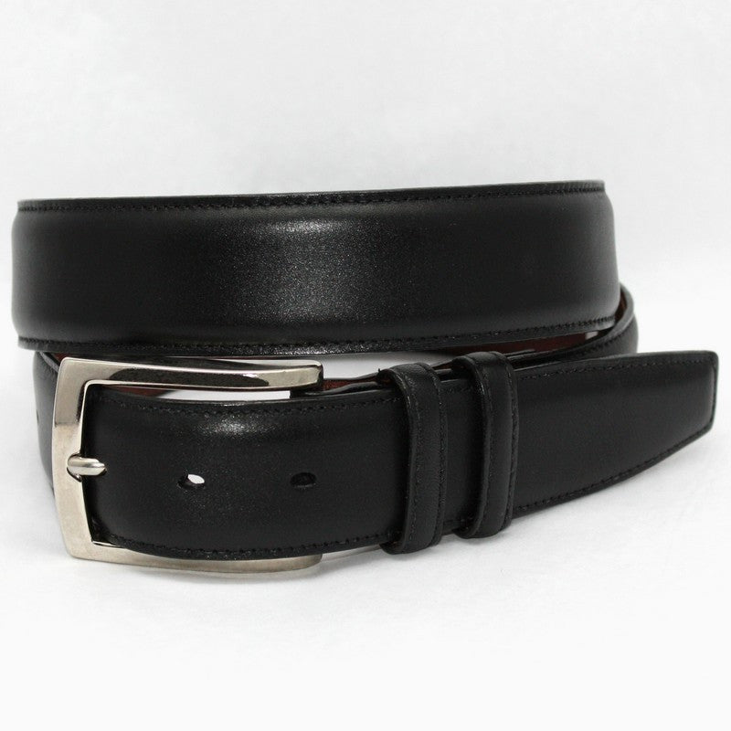 Torino Leather | Burnished Calfskin Belt - GARYS