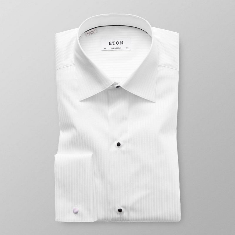 Eton Shirts | Satin Evening Shirt (Contemporary Fit)