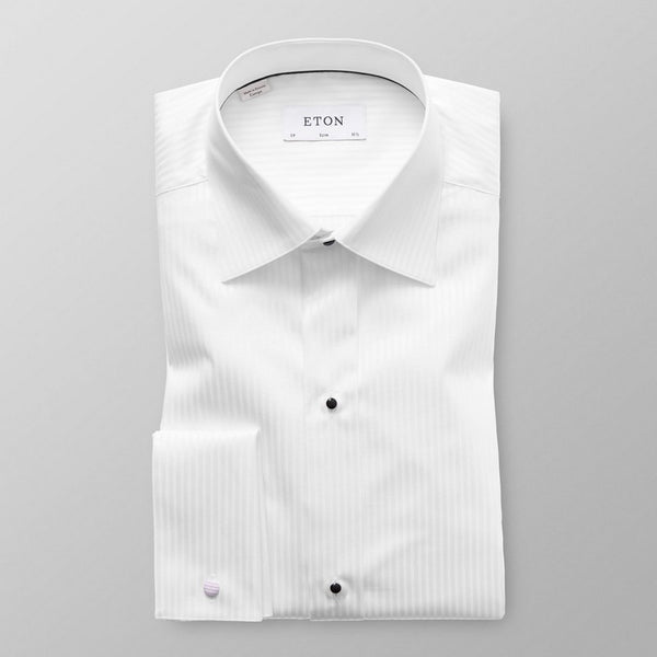 Eton Shirts |  Satin Evening Shirt (Slim Fit)