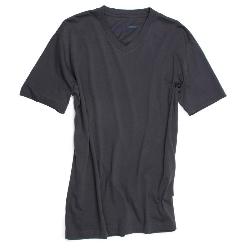 Georg Roth | V-Neck Gray Tee