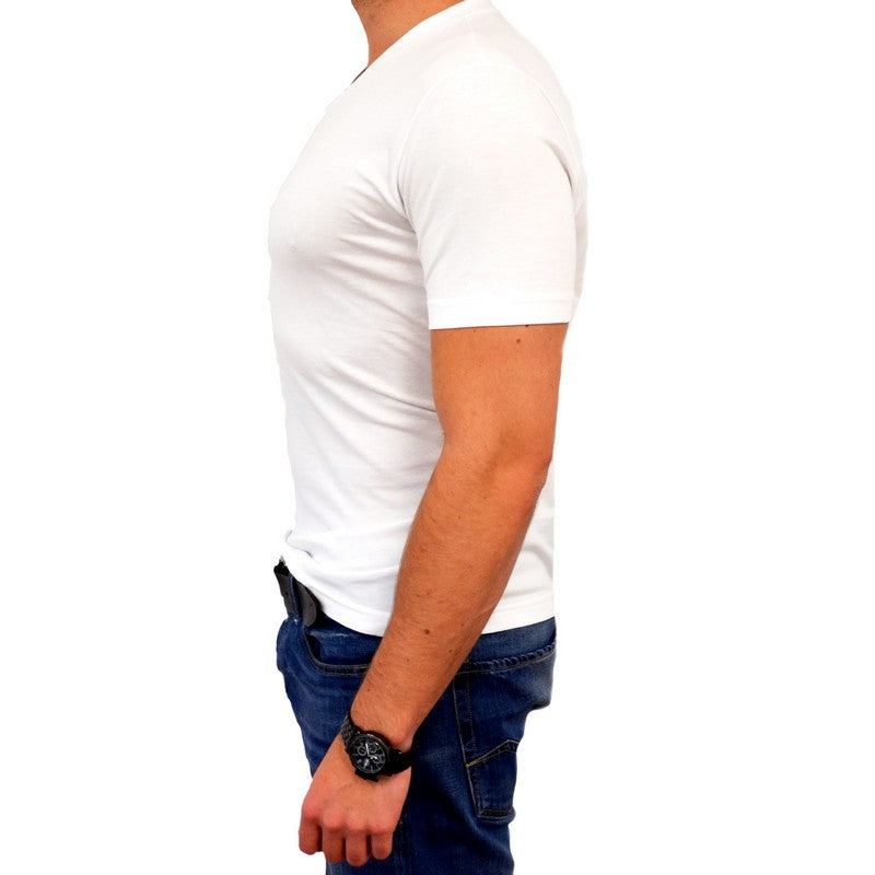 Georg Roth | V-Neck White Tee - GARYS