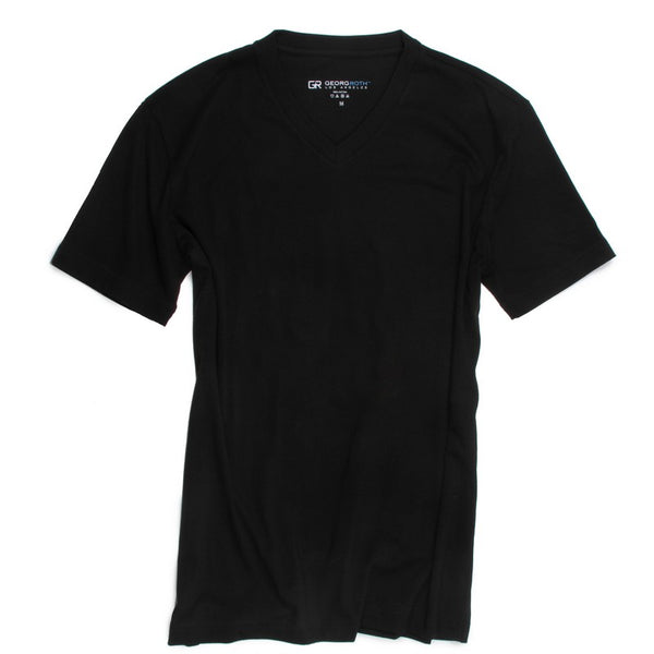 Georg Roth | V-Neck Black Tee - GARYS
