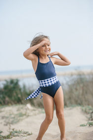 Luci One Piece in Nautical Gingham