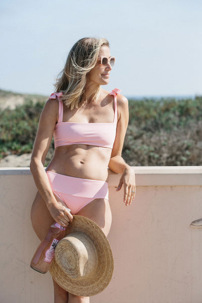 Rosalina Bikini Bottom in Pink Lemonade