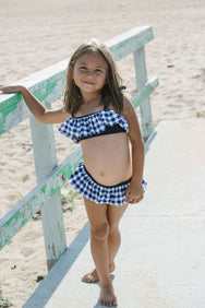 Rose Bikini in Nautical Gingham
