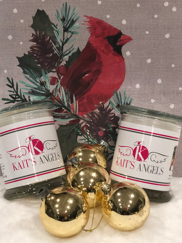 Holiday Scented Handmade  Soy Candles