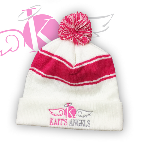 Kait's Angels Pink Winter Hat