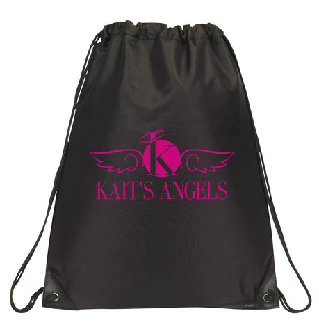 Black Drawstring Sport Bag