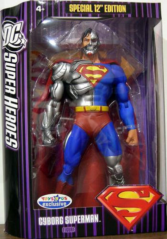 Cyborg Superman 12 inch dc mattel used