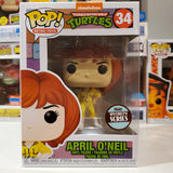 April O' Neil TEENAGE MUTANT NINJA TURTLES FUNKO SPECIALTU SERIES POP #34