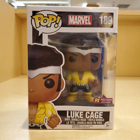 Luke Cage MARVEL Exclusive Funko Pop #189