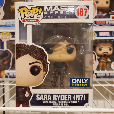 Sara Ryder (N7) MASS EFFECT ANDROMEDA EXCLUSIVE  FUNKO POP #187