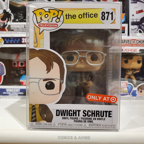 DWIGHT SCHRUTE THE OFFICE TARGET EXCLUSIVE FUNKO POP #871
