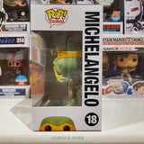 MICHELANGELO TMNT RETRO TOYS FUNKO POP #18