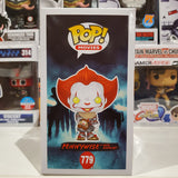 PENNYWISE WITH BEAVER HAT IT CHAPTER TWO EXCLUSIVE FUNKO POP #779