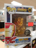 Iron Man gold metallic exclusive funko pop