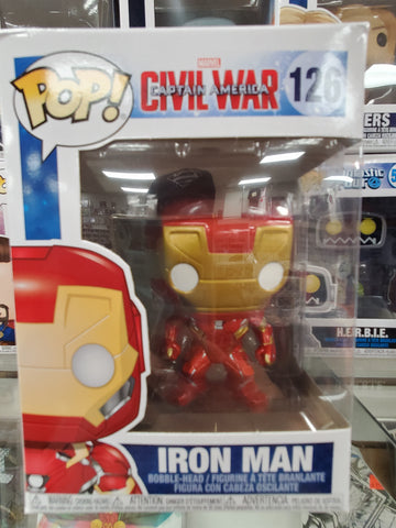 IRON MAN Civil War #126 Funko Pop