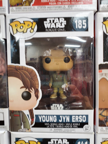 YOUNG JYN ERSO Star Wars Rogue One #141 Funko Pop
