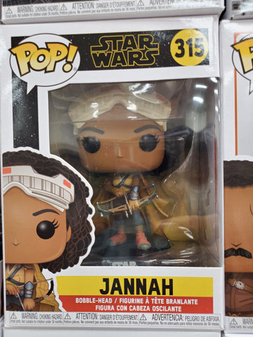 JANNAH STAR WARS #315 FUNKO POP