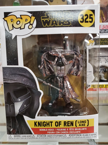 KNIGHTS OF REN (LONG AXE) STAR WARS #325 Funko Pop