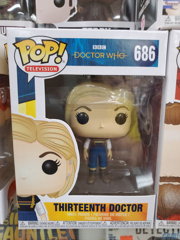 Thirteenth Doctor DR. WHO #686 Funko Pop