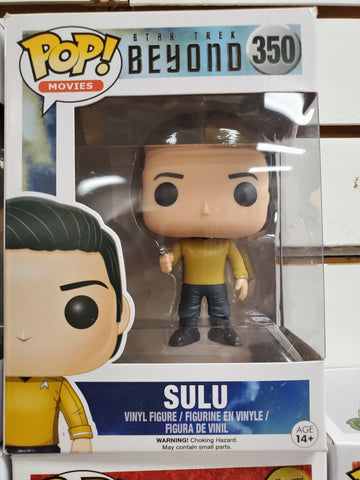 SULU STAR TREK AND BEYOND #350 FUNKO POP
