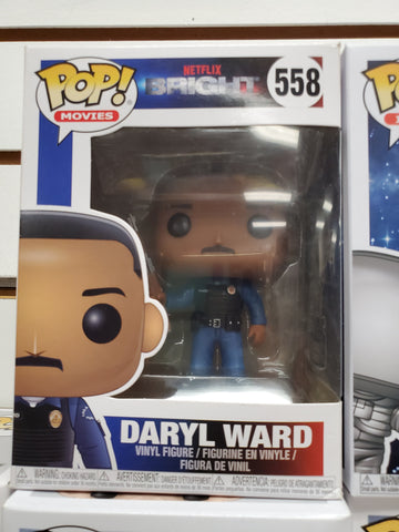 DARYL WARD BRIGHT #558 Funko Pop