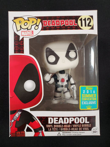 Deadpool summer convention exclusive pop marvel # 112